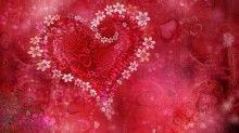 Beautiful love heart