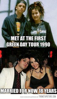 Billie Joe Armstrong…