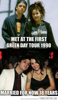 Billie Joe and Adrienne Armstrong