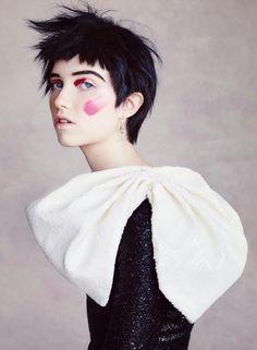 Grace Hartzel by Patrick Demarchelier for Vogue US October 2015