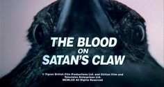 The Blood on Satan's Claw (1971) title sequence