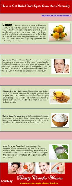 How to get rid of dark spots from acne and acne spots, know some easy yet effective natural treatments.