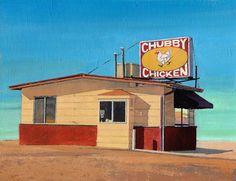 Saatchi Online Artist Adalberto Ortiz; Painting, Chubby chicken #art