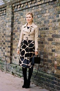 London Fashion Week AW 2014....Nasiba
