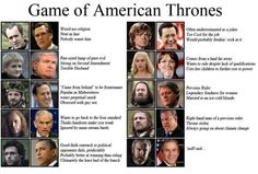 Games of thrones and US politics? Win.