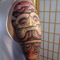 Tlaloc Aztec Zapotec Mixtec Tattoo Blackandgrey Drewflores Stateofgracetattoo