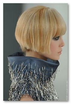 Chanel Couture haircut