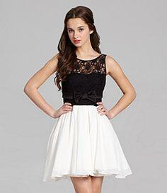 Black And White Junior Dresses – tart.tk