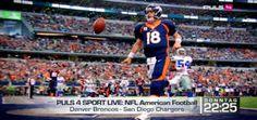 NFL Divisional Playoff Live auf PULS 4 Denver Broncos gegen San Diego Chargers am Sonntag live und exklusiv im österreichischen Free-TV ab 2...