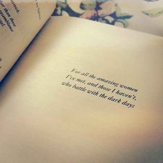 Just A Girl Standing In Front Of A Boy by Lucy-Anne Holmes | 26 Of The Greatest Book Dedications You Will Ever Read