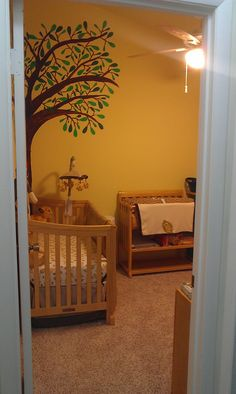 Lion King themed baby's room
