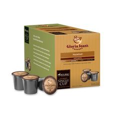 Gloria Jeans Hazelnut Coffee KCup Pack of 108 * You can find more details by visiting the image link. Note: It's an affiliate link to Amazon.