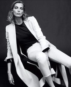 Daria Werbowy by Daniel Jackson for Harper's Bazaar Feb 2014 _