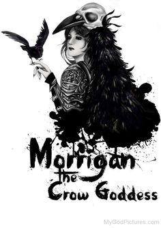 Image result for morrigan goddess