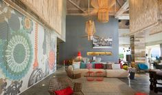 Interiors by the hotel's lead designer Patricia Urquiola. The W Retreat & Spa Vieques Island
