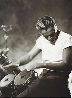 Larry Mullen Jr  Image found on this site: http://www.flickriver.com/groups/u2larry/pool/interesting/