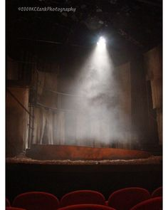 A Night at the Theatre 8x10 Photo with mat Home Decor rich red drama acting stage theater moody