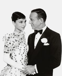 'They had her (Audrey), and she said, well, I'll only do it if you get Fred Astaire. And that was the biggest compliment you could get, you know.' - Fred Astaire