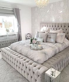 64 modern and simple bedroom design ideas 7 - Home ideas - Bedroom Decor Dream Rooms, Dream Bedroom, Home Bedroom, Modern Bedroom, Beds Master Bedroom, Contemporary Bedroom, Bedroom Small, Minimalist Bedroom, Lux Bedroom
