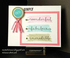 Color My Heart Color Dare: Color Dare #134 - Cotton Candy, Olive, Lagoon, Black, & White Daisy