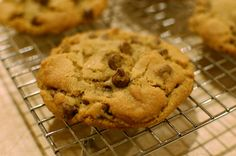 Perfect bakery style chocolate chip cookies. Fake everyone into believing they came from a professional!