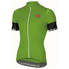 Castelli 2017 Men s Entrada Full Zip Short Sleeve Cycling Jersey - (pro  green - S) 0fbc229b3