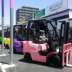 And why not pastels #forklift