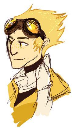 Pitch Dream. ( awww he's sorta cute like this. :P )