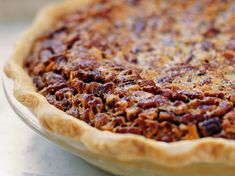 Chocolate Bourbon Pecan Pie  This is the one I like, No blind bake!