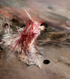 Giovanni Boldini | La danzatrice spagnola, 1900