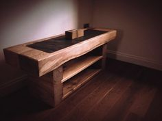 Mewslade Railway Sleeper TV Stand