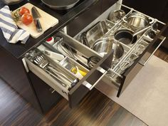 If only I could find these for cabinets that are not from IKEA | RATIONELL drawer dividers