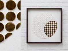 Full circle - porcelain wall art Porcelain, Wall Art, Frame, Home Decor, Room Decor, Porcelain Ceramics, Frames, A Frame, Home Interior Design