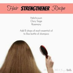 Young Living Essential Oils: Hair  www.theoildropper.com