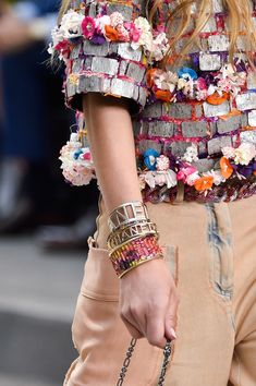 247 details photos of Chanel at Paris Fashion Week Spring 2015.
