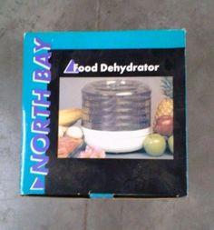 NORTH BAY 5 TRAY FOOD DEHYDRATOR NEW IN BOX