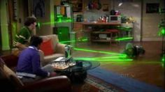 SECRET AGENT LASER OBSTACLE CHESS < I want to play!
