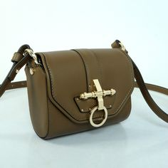 e9524aa3b6 www.givenchyshops.com Givenchy Obsedia Leather Shoulder Bag Army Green   Givenchy  Obsedia