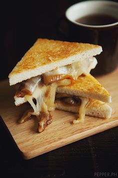 French Onion Gruyere Sandwiches