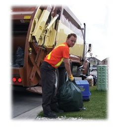 I talked to my garbage man. Apparently I'm one of the few…