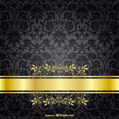 Free Dark Luxury Background Vector Template