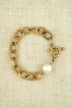exvoto vintage jewelry chunky gold bracelet
