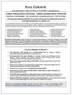 Ceo Resume Ceo  Coo Technology Page 2  Resume Samples  Pinterest
