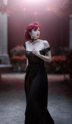 Photographer: Z. Vision Model: Chloé Sélène Faivre Dress: Antik Couture Welcome to Gothic and Amazing   www.gothicandamazing.com