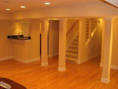 Half Wall Railing For Basement Stairs Baulastrades Pinterest