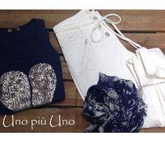 blue&white White Shorts, Blue And White, Women, Fashion, Moda, Women's, La Mode, Fasion, Fashion Models