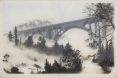 "Brooks Shane Salzwedel ""The Pass,"" 2012 - graphite, tape and resin"