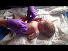 Newborn assessment/exam just after birth. #newbornexam