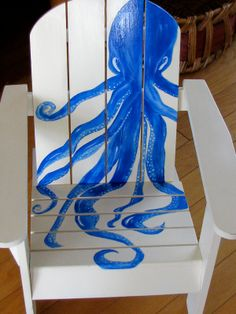Childs Chair Hand Painted By Marianne McCarthy