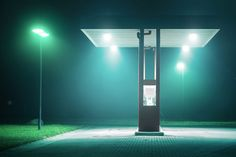 Gas station by Andreas Levers
